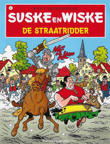 083 - Suske en Wiske - De straatridder - Nieuwe cover