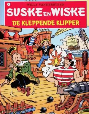 095 - Suske en Wiske - De kleppende klipper - Nieuwe cover