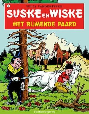 096 - Suske en Wiske - Het rijmende paard - Nieuwe cover