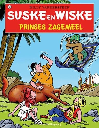 129 - Suske en Wiske - Prinses Zagemeel - Nieuwe cover