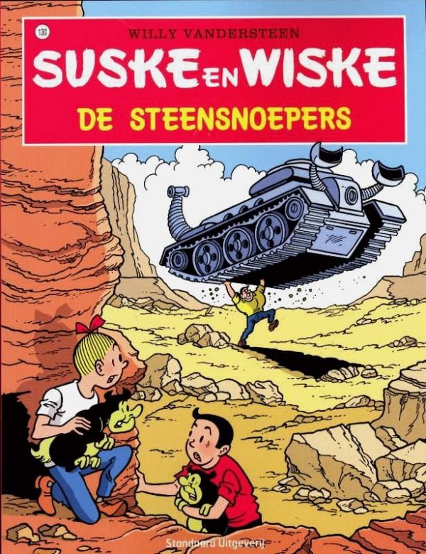 130 - Suske en Wiske - De steensnoepers - Nieuwe cover