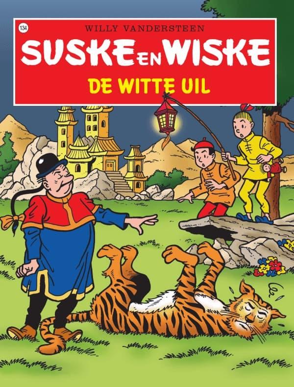32 - Suske en Wiske - De stierentemmer - Nieuwe cover