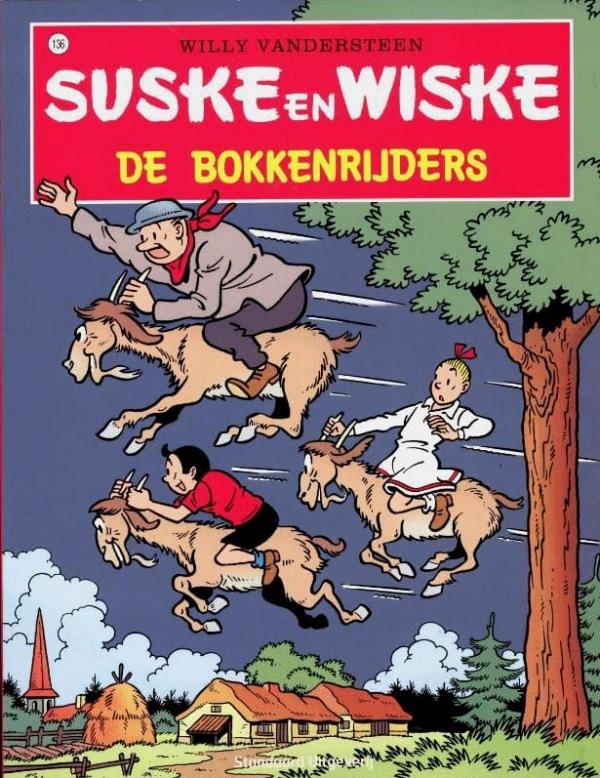 136 - Suske en Wiske - De bokkenrijders - Nieuwe cover