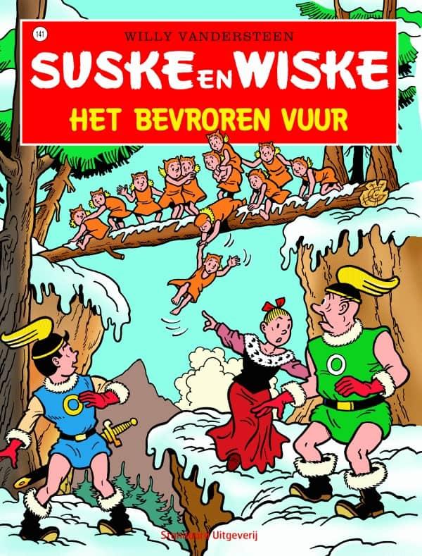 141 - Suske en Wiske - Het bevroren vuur - Nieuwe cover