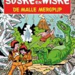 143 - Suske en Wiske - De malle mergpijp - Nieuwe cover