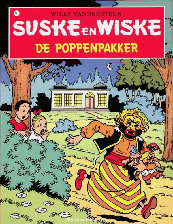 147 - Suske en Wiske - De poppenpakker - Nieuwe cover