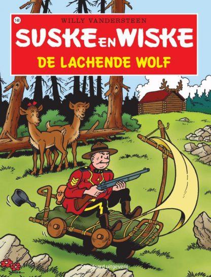 148 - Suske en Wiske - De lachende wolf - Nieuwe cover