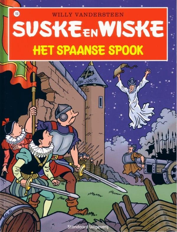 150 - Suske en Wiske - Het spaanse spook - Nieuwe cover