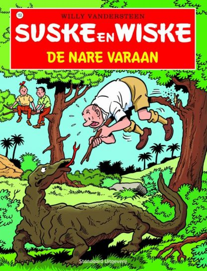 153 - Suske en Wiske - De nare varaan - Nieuwe cover