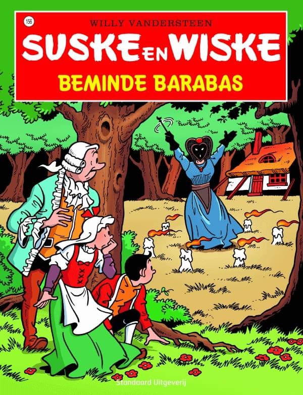 156 - Suske en Wiske - Beminde Barabas - Nieuwe cover