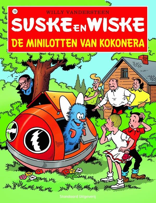 159 - Suske en Wiske - De minilotten van Kokonera - Nieuwe cover