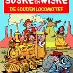 162 - Suske en Wiske - De gouden locomotief - Nieuwe cover