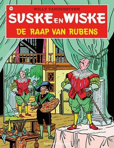 164 - Suske en Wiske - De raap van Rubens - Nieuwe cover