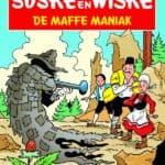 166 - Suske en Wiske - De maffe maniak - Nieuwe cover