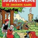 167 - Suske en Wiske - De zingende kaars - Nieuwe cover