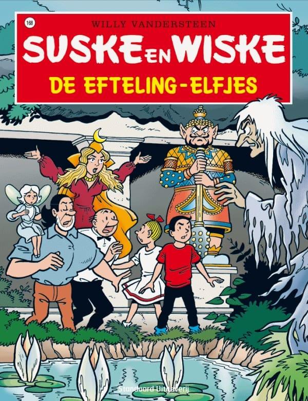 168 - Suske en Wiske - De Efteling-elfjes - Nieuwe cover