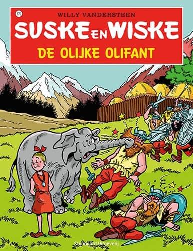 170 - Suske en Wiske - De olijke olifant - Nieuwe cover