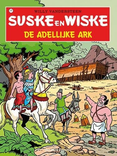 177 - Suske en Wiske - De adellijke ark - Nieuwe cover
