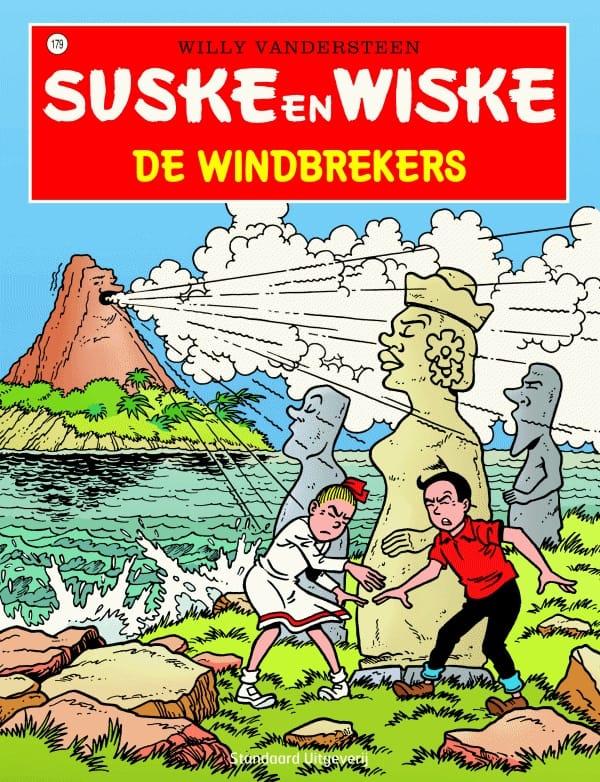 179 - Suske en Wiske - De windbrekers - Nieuwe cover