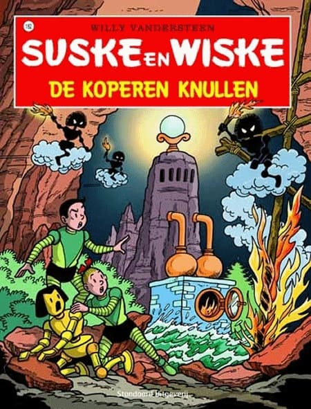 182 - Suske en Wiske - De koperen knullen - Nieuwe cover