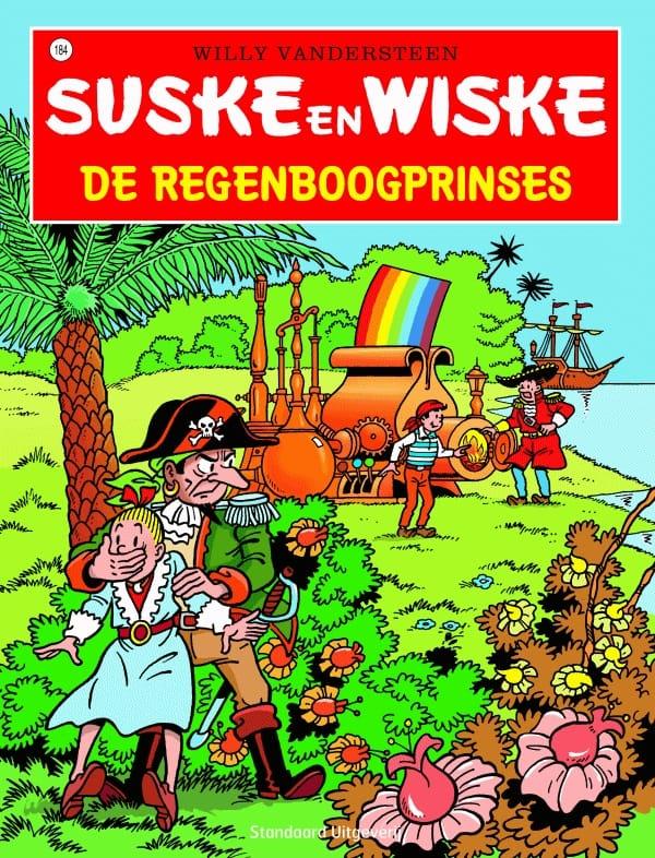 184 - Suske en Wiske - De regenboogprinses - Nieuwe cover