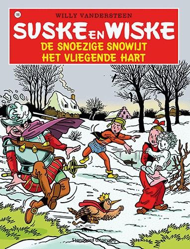 188 - Suske en Wiske - De snoezige Snowijt - Het vliegende hart - Nieuwe cover