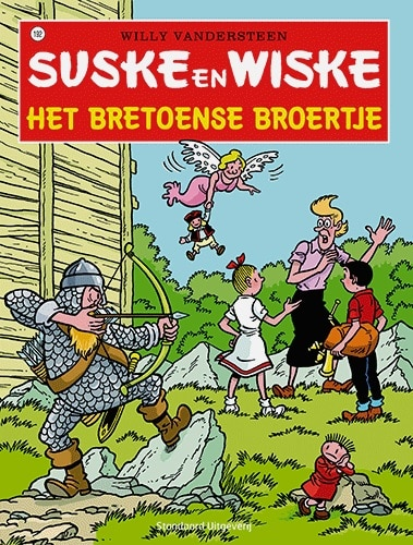 192 - Suske en Wiske - Het Bretoense broertje - Nieuwe cover