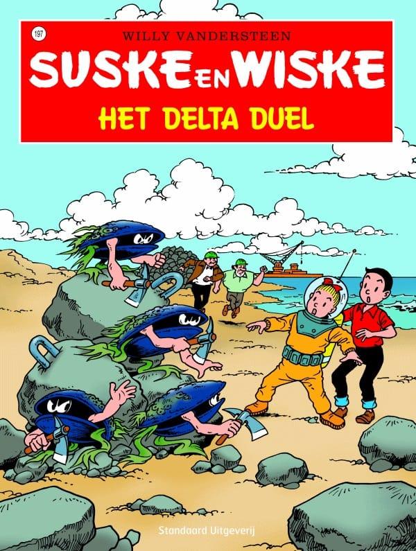 197 - Suske en Wiske - Het Delta duel - Nieuwe cover