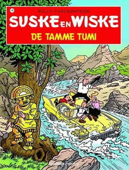 199 - Suske en Wiske - De tamme Tumi - Nieuwe cover