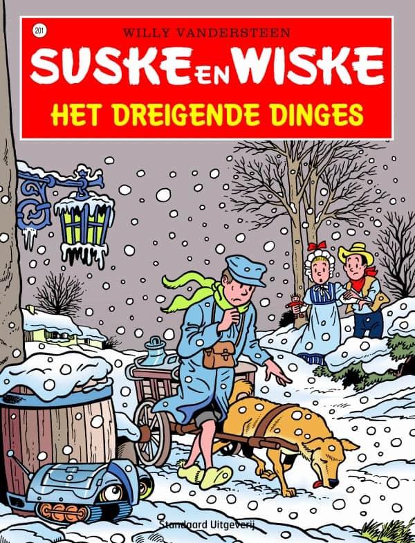 201 - Suske en Wiske - Het dreigende dinges - Nieuwe cover