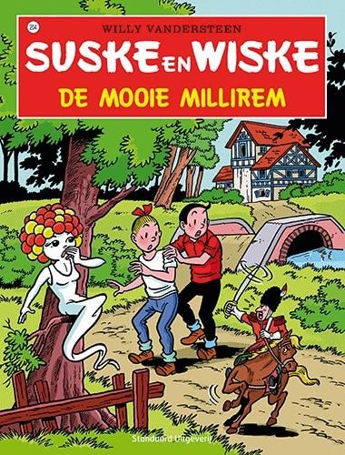 204 - Suske en Wiske - De mooie millirem - Nieuwe cover