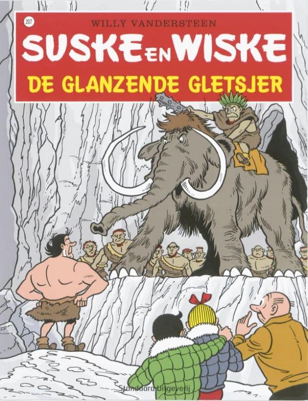 207 - Suske en Wiske - De glanzende gletsjer - Nieuwe cover