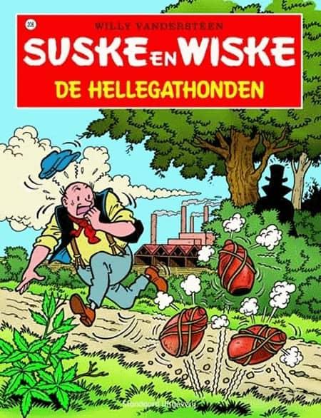 208 - Suske en Wiske - De Hellegathonden - Nieuwe cover