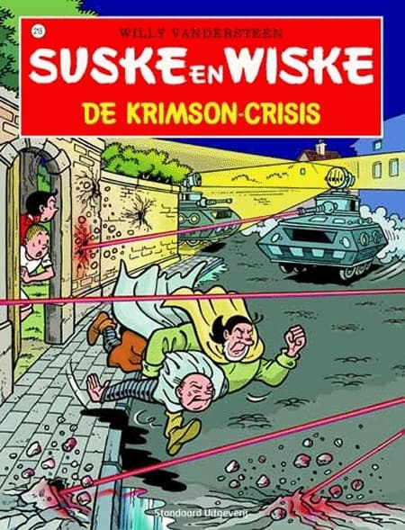 215 - Suske en Wiske - De Krimson-crisis - Nieuwe cover