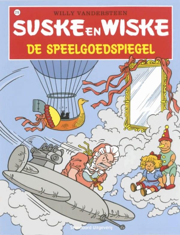 219 - Suske en Wiske - De speelgoedspiegel - Nieuwe cover