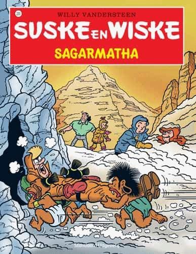 220 - Suske en Wiske - Sagarmatha - Nieuwe cover