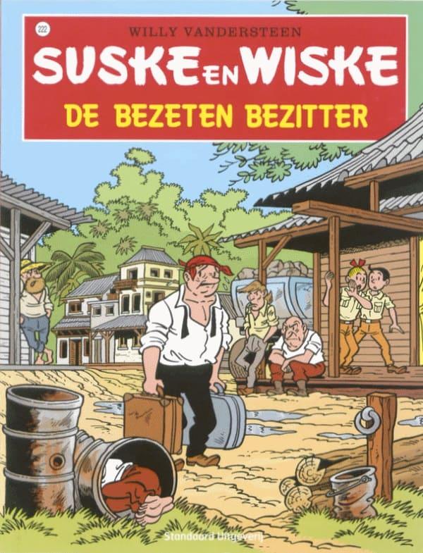 222 - Suske en Wiske - De bezeten bezitter - Nieuwe cover