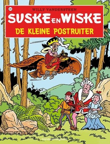 224 - Suske en Wiske - De kleine postruiter - Nieuwe cover
