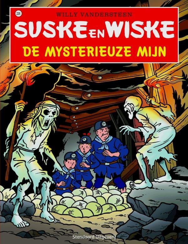 226 - Suske en Wiske - De mysterieuze mijn - Nieuwe cover
