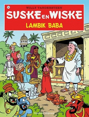 230 - Suske en Wiske - Lambik Baba - Nieuwe cover