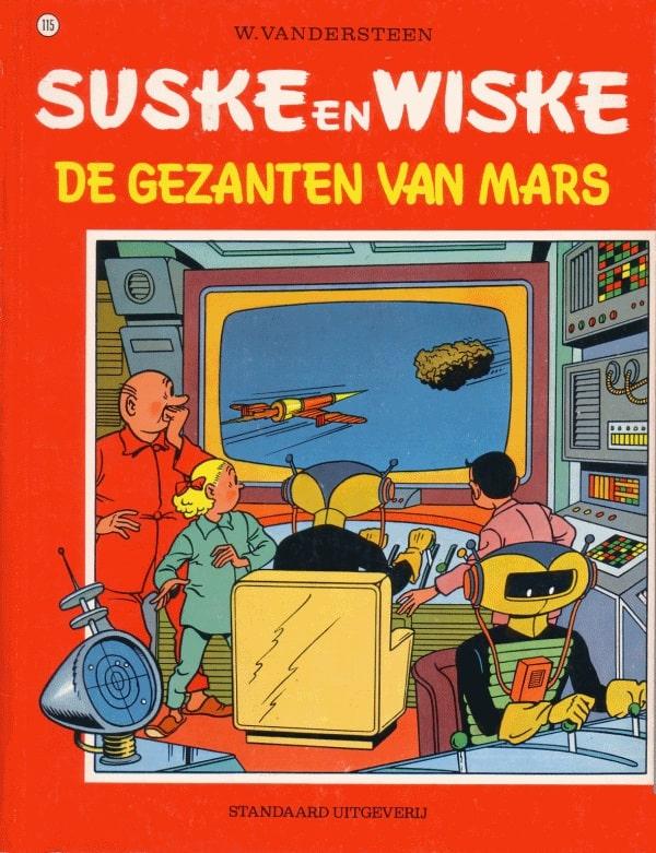 115 - Suske en Wiske - De gezanten van Mars