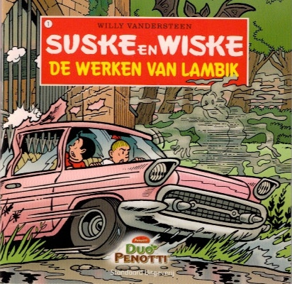 Suske en Wiske - De werken van Lambik - Vlaamse uitgave - 2010