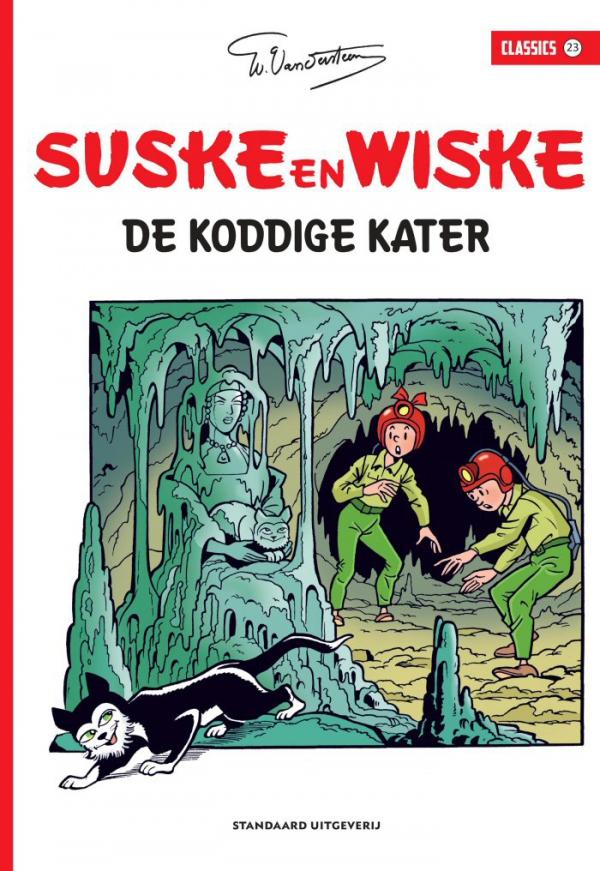 23 - Suske en Wiske - De koddige kater - Classics - 2019