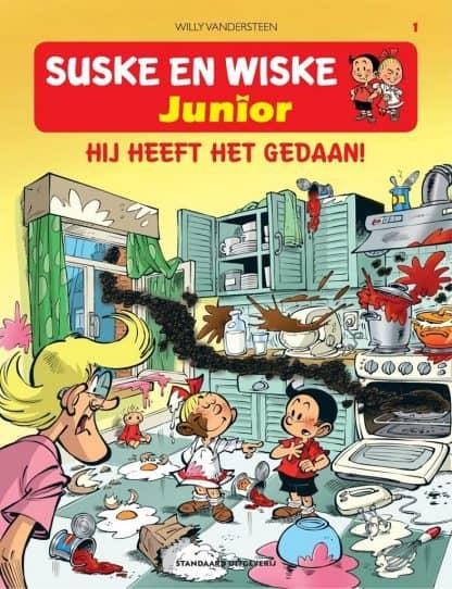 Deel 1 - Suske en Wiske Junior - Hij heeft het gedaan!