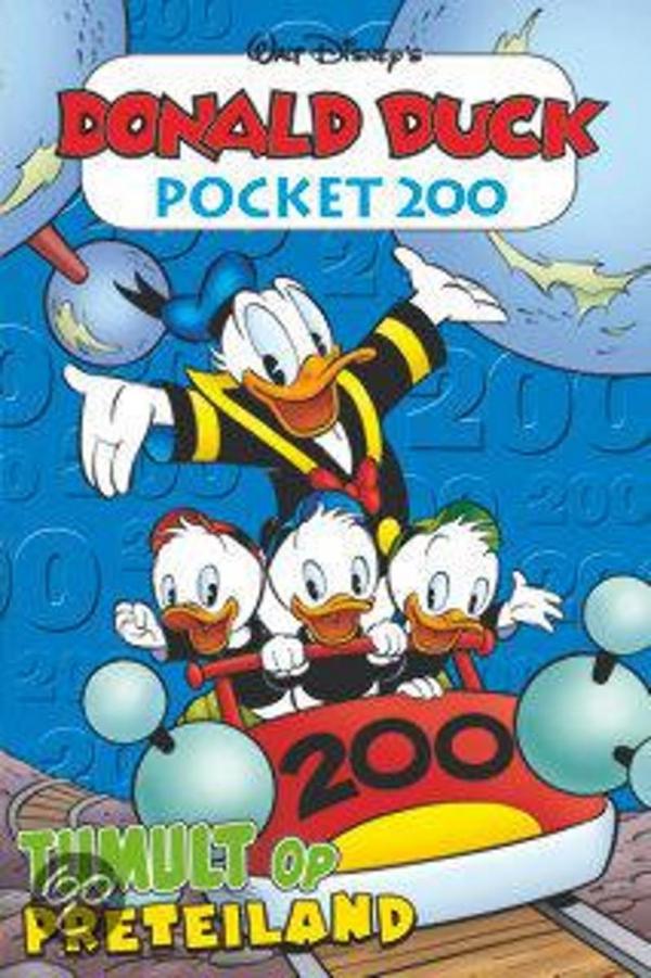 Donald Duck pocket 200 - Tumult op preteiland