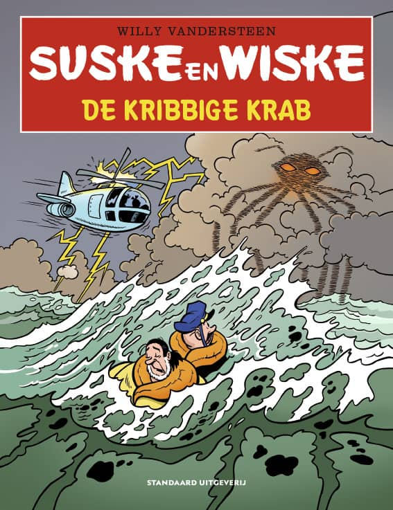 Suske en Wiske - De kribbige krab - 2020