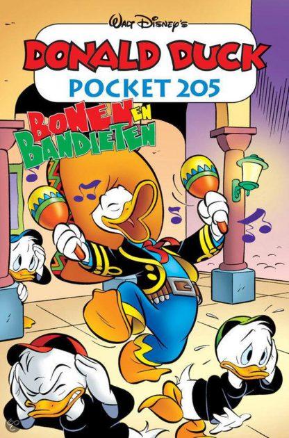 Donald Duck pocket 205 - Bonen en bandieten