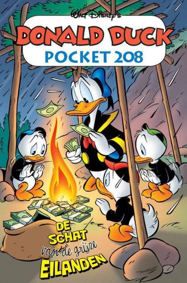 Donald Duck pocket 208 - De schat van de grijze eilanden