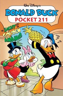 211 - Donald Duck pocket - De jacht op de gouden ananas