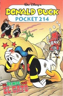 214 - Donald Duck pocket - De bende van El Gato